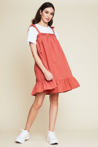 Paloma Ruffle Mini Dress