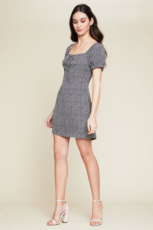 Amelie Puff Sleeve Dress