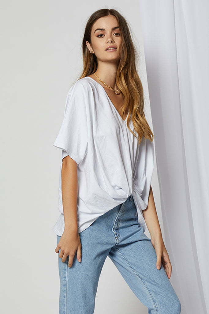 Macy Twist Crop Top