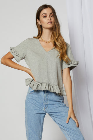 Therese Wide Sleeve Top