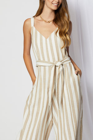 Kendall Striped Jumpsuit