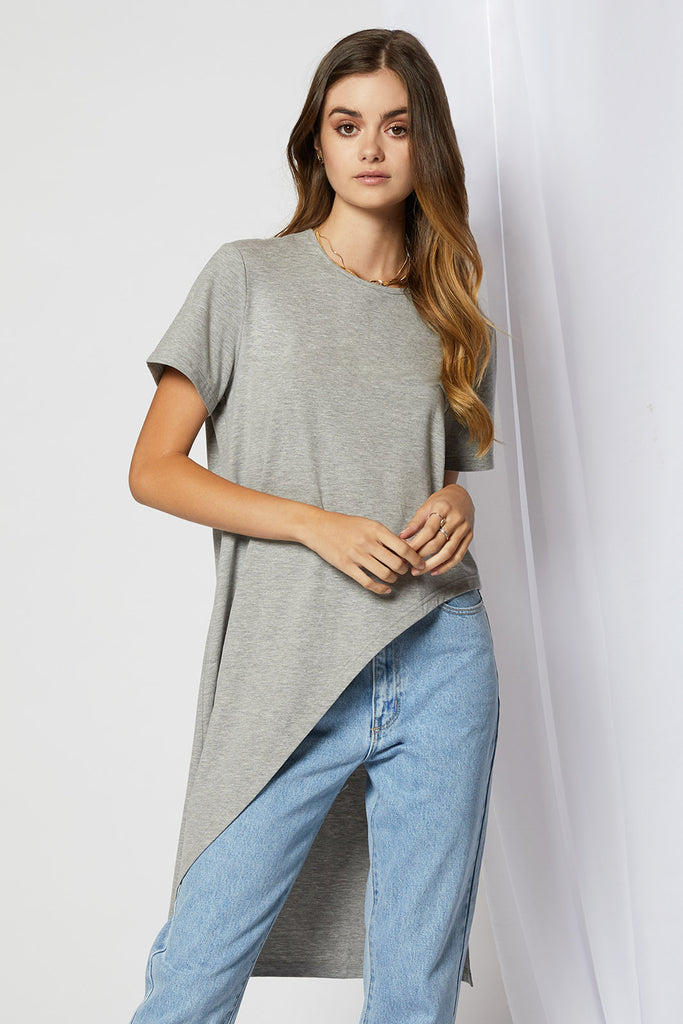 Sunday Asymmetrical Tee