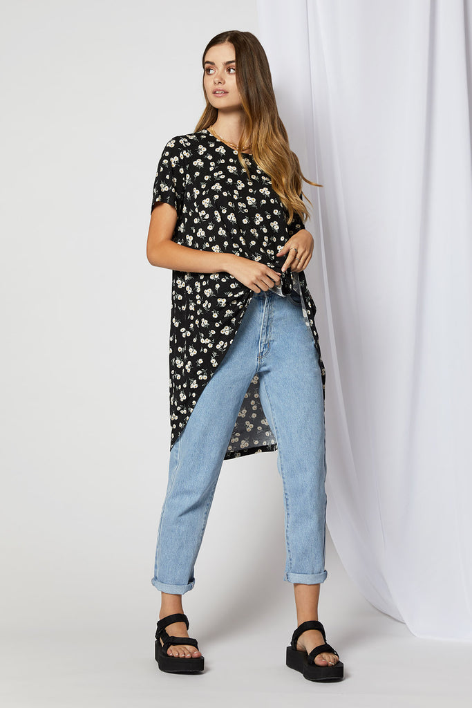 Dasha Waterfall Tail Tee