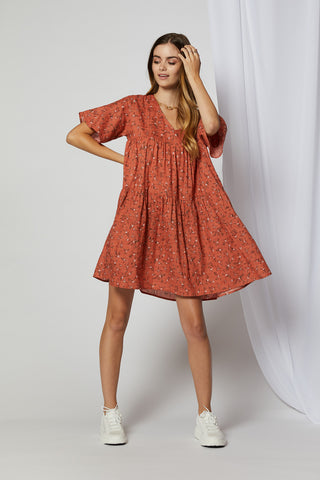 Paisley Mini Dress