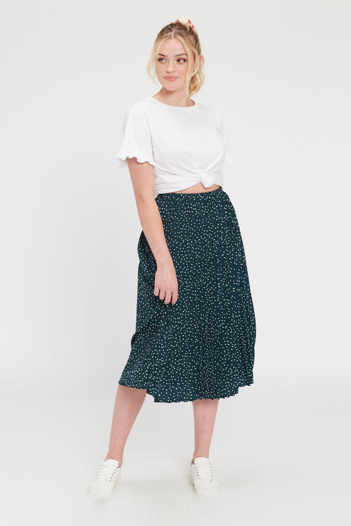Venice Pleated Skirt