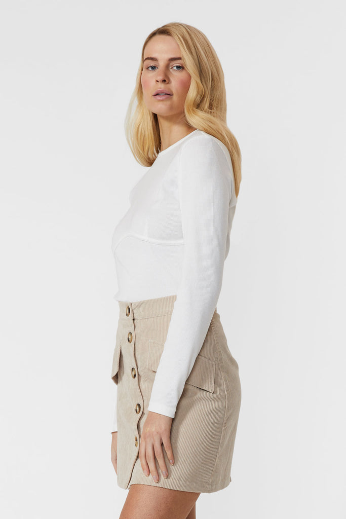 Giselle Rib Knit Top