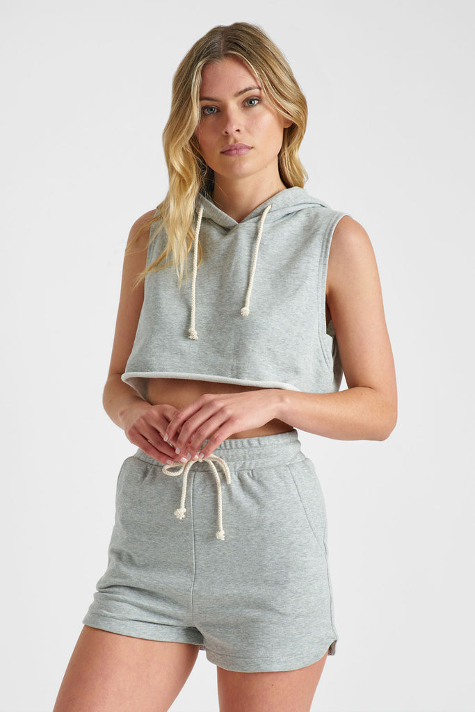 Remi Cropped Hoodie