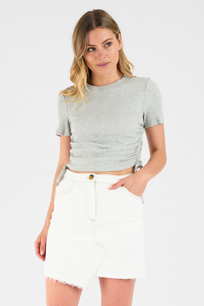 Zoe Tie Side Top