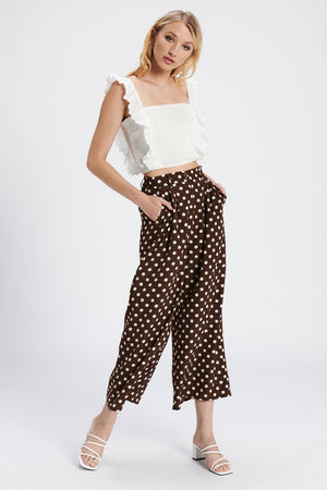 Tianne Brown Spot Pants