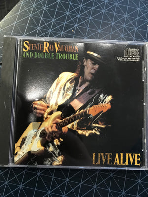 Stevie Ray Vaughan - Live Alive - Used CD