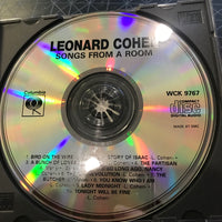 Leonard Cohen - Songs From A Room - Used CD