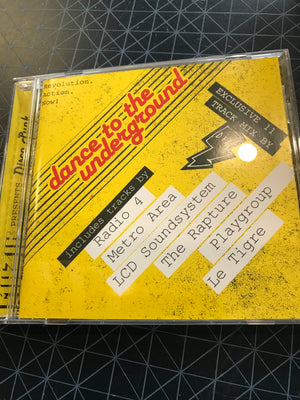 Various - DFA - Muzik Presents Disco Punk - Used CD