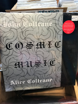 John Coltrane/Alice Coltrane - Cosmic Music - New Vinyl LP