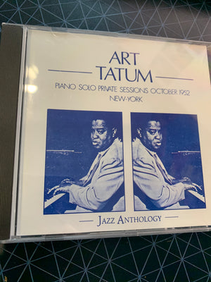 Art Tatum - Piano Solo Private Sessions October 1952 New York -  Used CD
