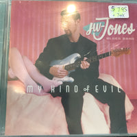 JW Jones Blues Band - My Kind Of Evil - Used CD