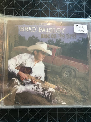 Brad Paisley - Mud On The Tires - Used CD