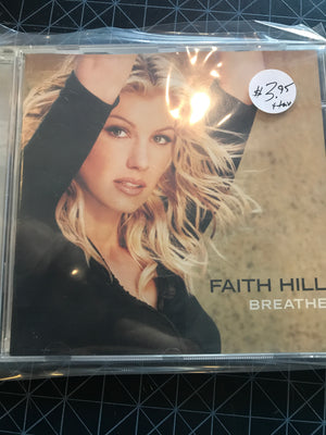 Faith Hill - Breathe - Used CD