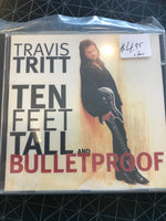 Travis Tritt - Ten Fleet Tall And Bulletproof - Used CD