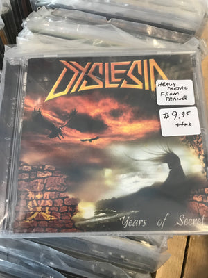 Dyslesia - Years Of Secret - Used CD