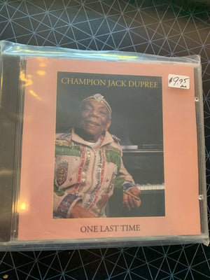 Champion Jack Dupree - One Last Time - Used CD