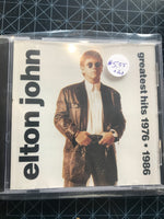 Elton John - Greatest Hits 1976-1986 - Used CD