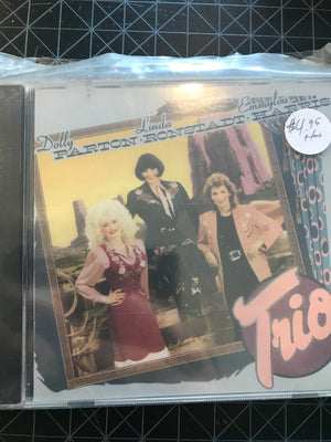 Dolly Parton, Linda Ronstadt & Emmylou Harris - Trio - Used CD