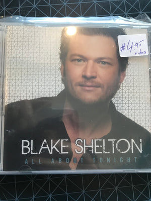 Blake Shelton - All About Tonight - Used CD