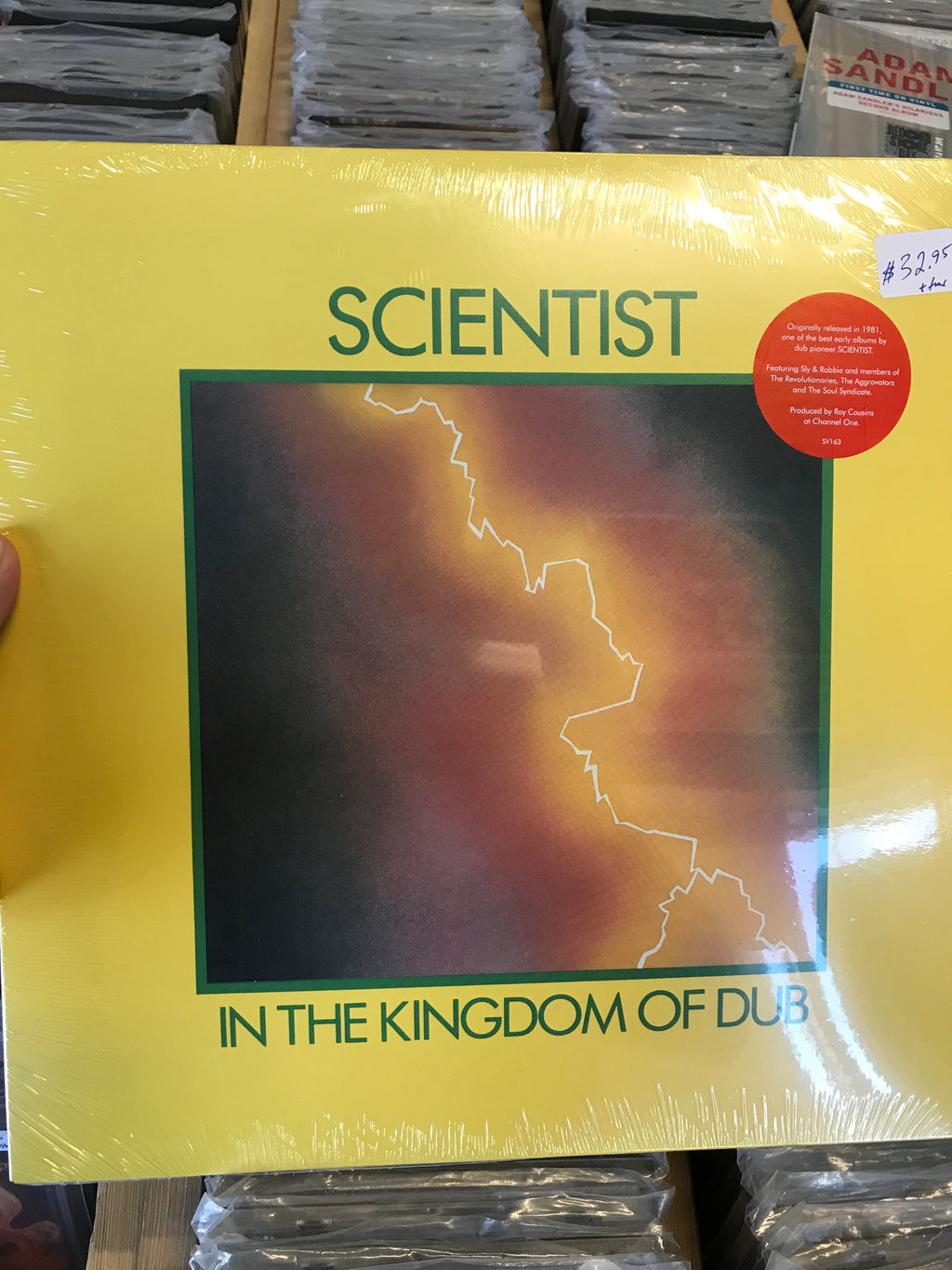 Scientist - In The Kingdom Of Dub - New Vinyl LP