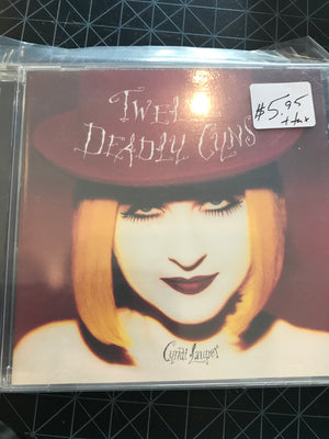 Cyndi Lauper - Twelve Deadly Guns - Used CD