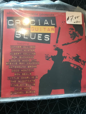 Various - Crucial Guitar Blues - Used CD