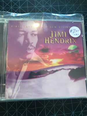Jimi Hendrix - First Rays Of The New Rising - Used CD