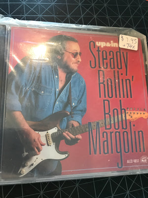 Steady Rollin' Bob Margolin - Up & In - Used CD
