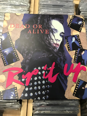 Dead Or Alive - Rip It Up - Used Vinyl LP