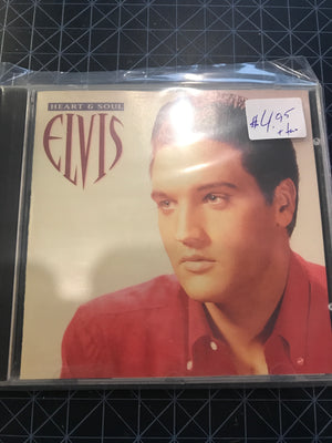 Elvis Presley - Heart & Soul - Used CD