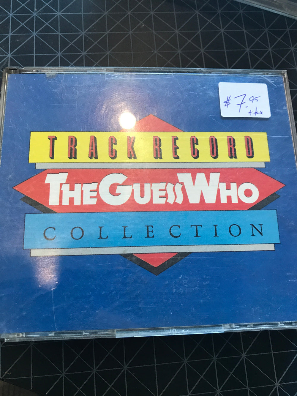Guess Who, The - Track Record Collection (worn jewel case) - Used CD