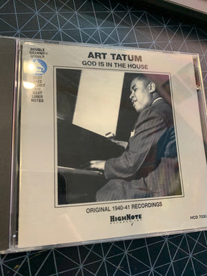 Art Tatum - God Is In The House -  Used CD
