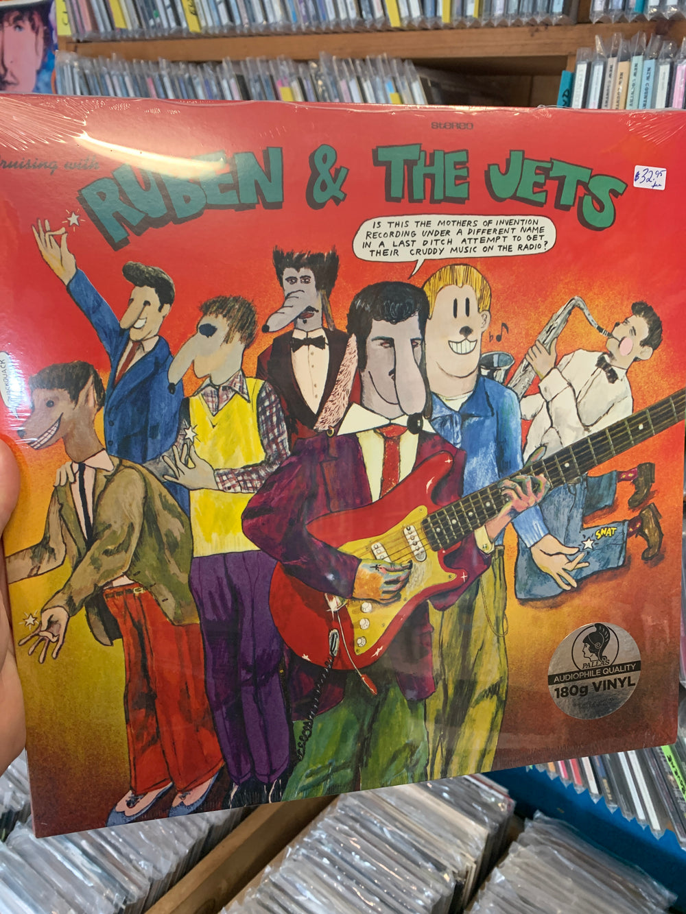 Frank Zappa & The Mothers Of Invention - Cruising With Ruben And The Jets - New Vinyl LP
