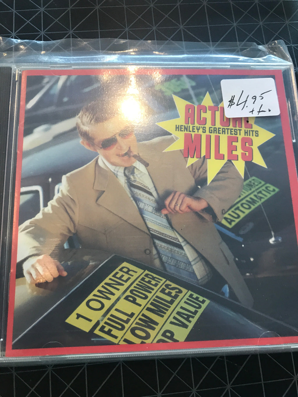 Don Henley - Actual Miles - Greatest Hits - Used CD