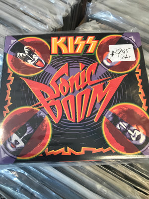 Kiss - Sonic Boom - Used CD