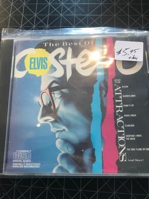 Elvis Costello & The Attractions - The Best Of - Used CD
