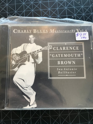 Clarence Gatemouth Brown - Charly Blues Masterworks Vol. 6 - Used CD