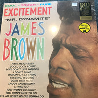 "James Brown - Excitement ""Mr. Dynamite"" - New Vinyl LP"