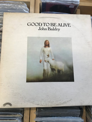 Long John Baldry - Good To Be Alive - Used Vinyl LP