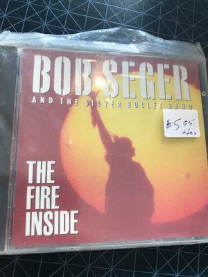 Bob Seger And The Silver Bullet Band - The Fire Inside - Used CD