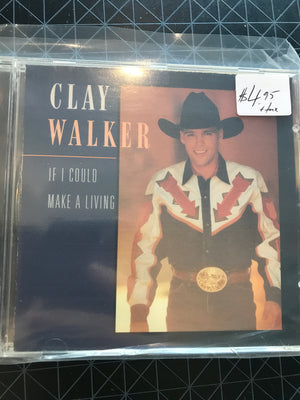 Clay Walker - If I could Make A Living - Used CD