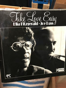 Ella Fitzgerald/Joe Pass - Take Love Easy - Used Vinyl LP