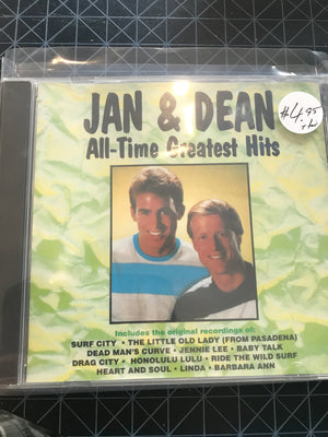 Jan & Dean - All Time Greatest Hits - Used CD