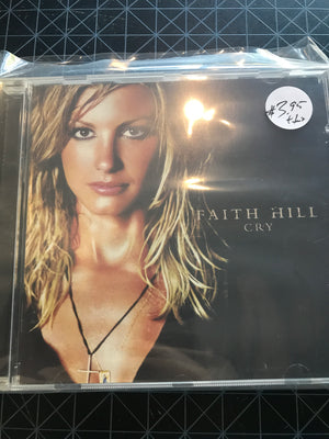 Faith Hill - Cry - Used CD