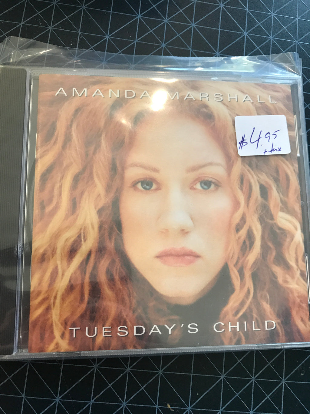 Amanda Marshall - Tuesday's Child - Used CD
