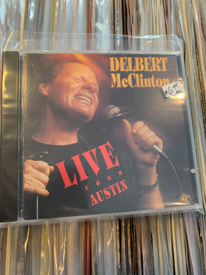 Delbert McClinton - Live From Austin - Used CD